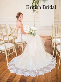 British Bridal bridal gown